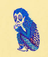 paranoid parrot human version by AokiAvsen