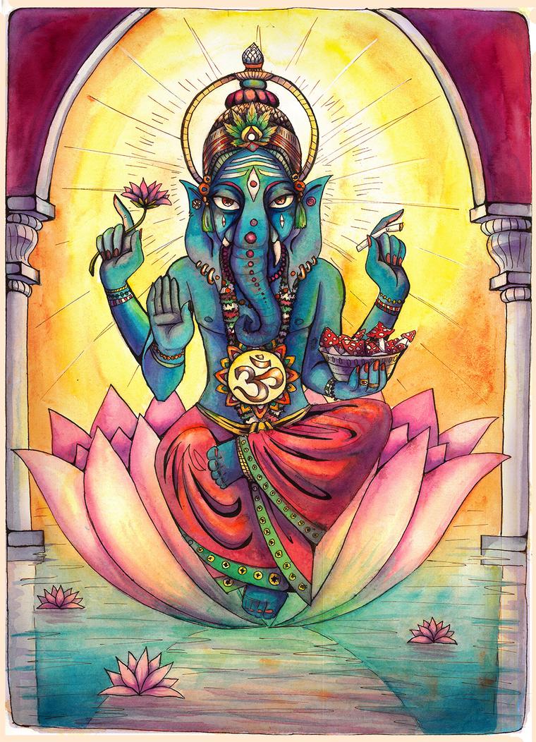 Ganesha by AokiAvsen