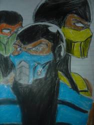 Mortal Kombat Ninja's...-SKOOB 6/22/14 by SkoobyForever
