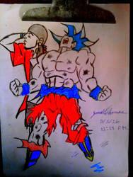 SkooB and Goku -SkooB 5/3/16 by SkoobyForever