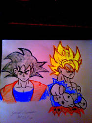 Goku -SkooB 5/21/16 by SkoobyForever