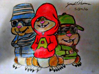 Alvin and The Chipmunks -SkooB 5/29/16 by SkoobyForever