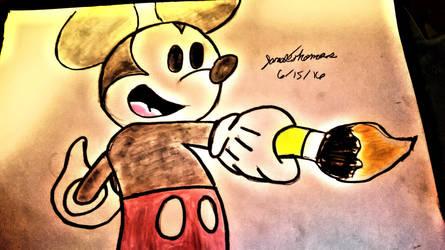 Mickey Mouse -SkooB 6/15/16 by SkoobyForever