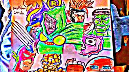 Marvel and DC Comics -SkooB 6/19/16 by SkoobyForever