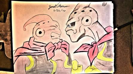 Buu vs Evil Buu - SKOOB 6/22/16 by SkoobyForever