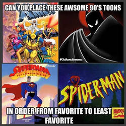 90's Classic Comics and Shows - SkooB 8/9/16 by SkoobyForever