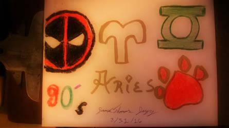 90's Aries ...Ya Meen! - SkooB 8/31/16 by SkoobyForever