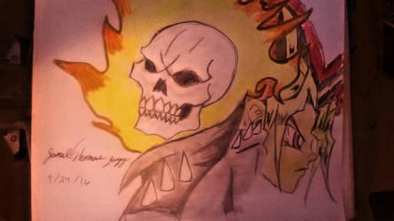 Ghost Rider and Yu-Gi-Oh -SkooB 9/24/16 by SkoobyForever