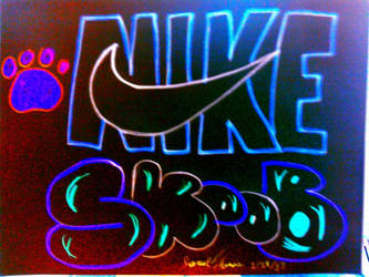 Trippy Nike -SkooB 1/18/17 by SkoobyForever