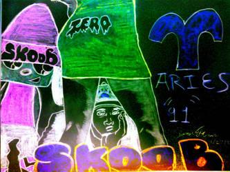 SkooBy Trippy Zero -SkooB 1/27/17 by SkoobyForever