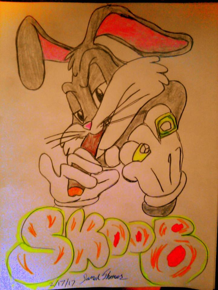 Bugs Bunny SkooBy Dawg! -SkooB 2/17/17 by SkoobyForever