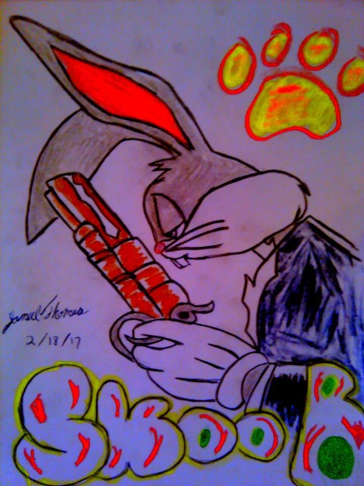 Thugs Bunny Dawg! -SkooB 2/18/17 by SkoobyForever
