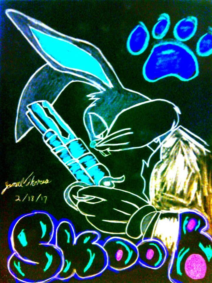 Trippy Thugs Bunny Dawg! -SkooB 2/18/17 by SkoobyForever