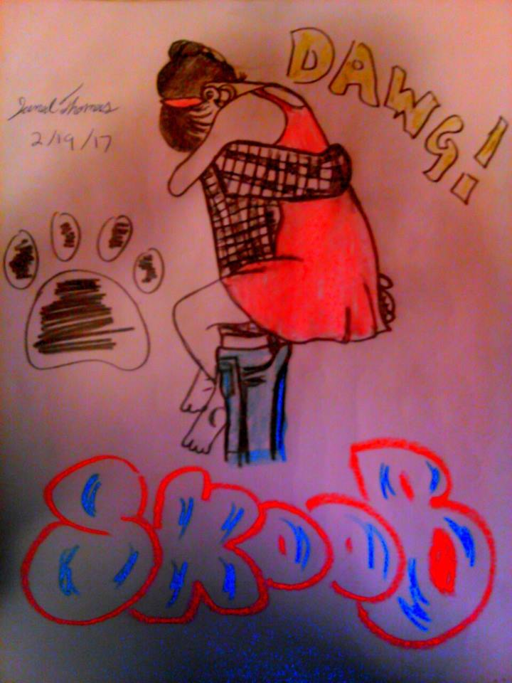 I Miss You Dawg! -SkooB 2/19/17 by SkoobyForever