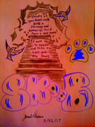 Heaven Stairs Homie! -SkooB 3/31/17 by SkoobyForever