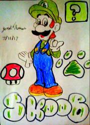 Luigi -SkooB 7/18/17 by SkoobyForever
