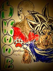 Jiren and Goku Dawg! -SkooB 10/27/17 by SkoobyForever