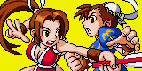Mai and Chun li battle
