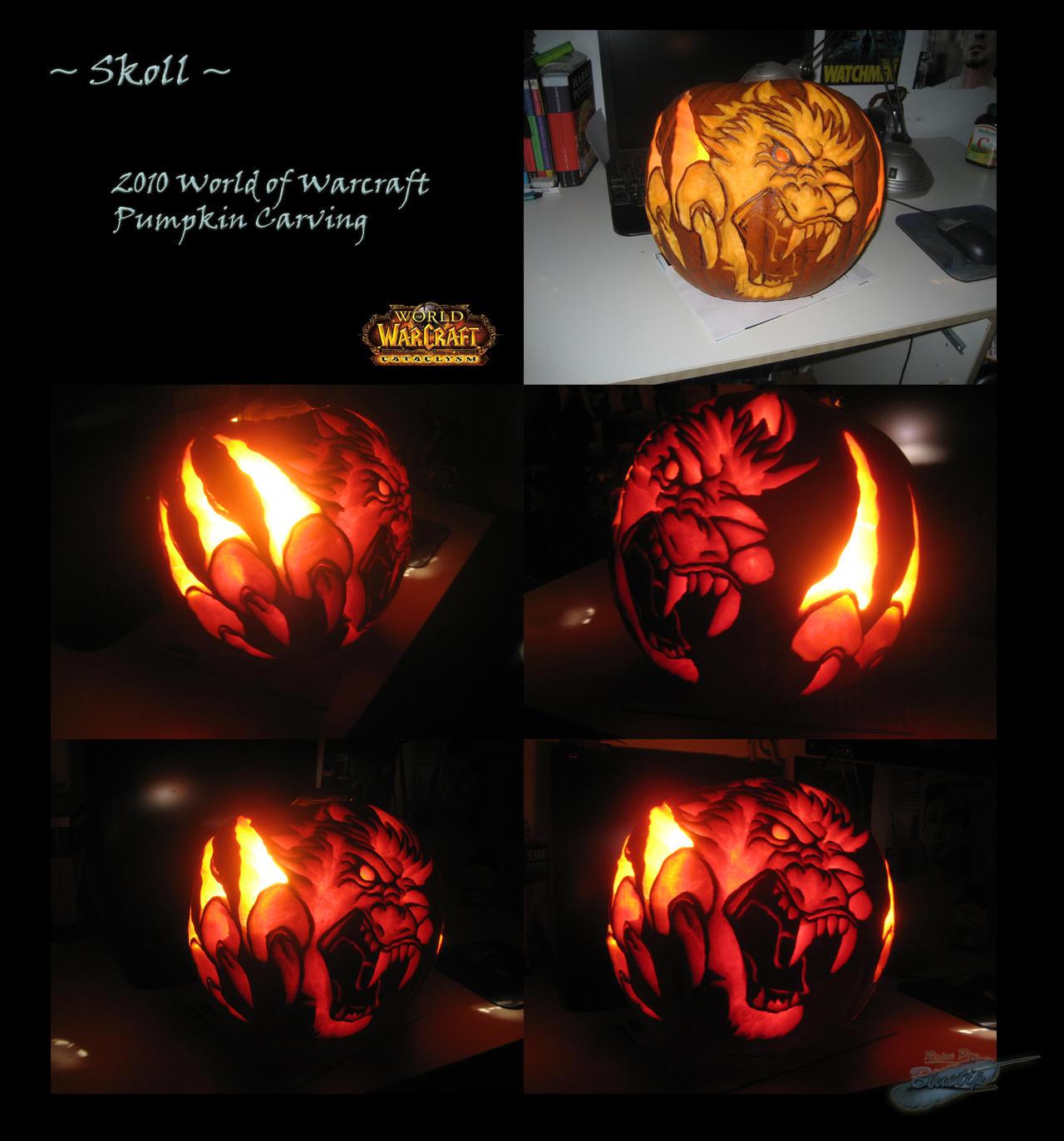 Dark Knight Pumpkin Carving Patterns