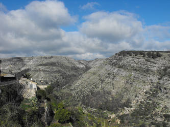 Hyblean Mountains, Ragusa in Sicily by floramelitensis