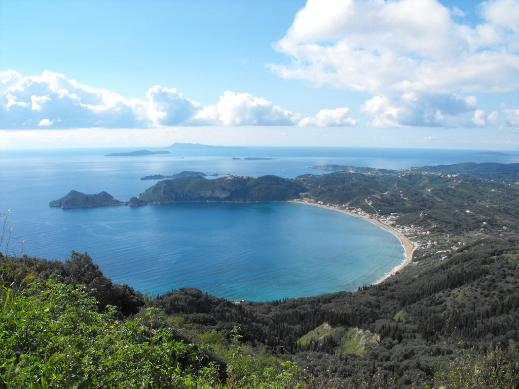 Agios Georgios and the Diapontia islands, Corfu by floramelitensis