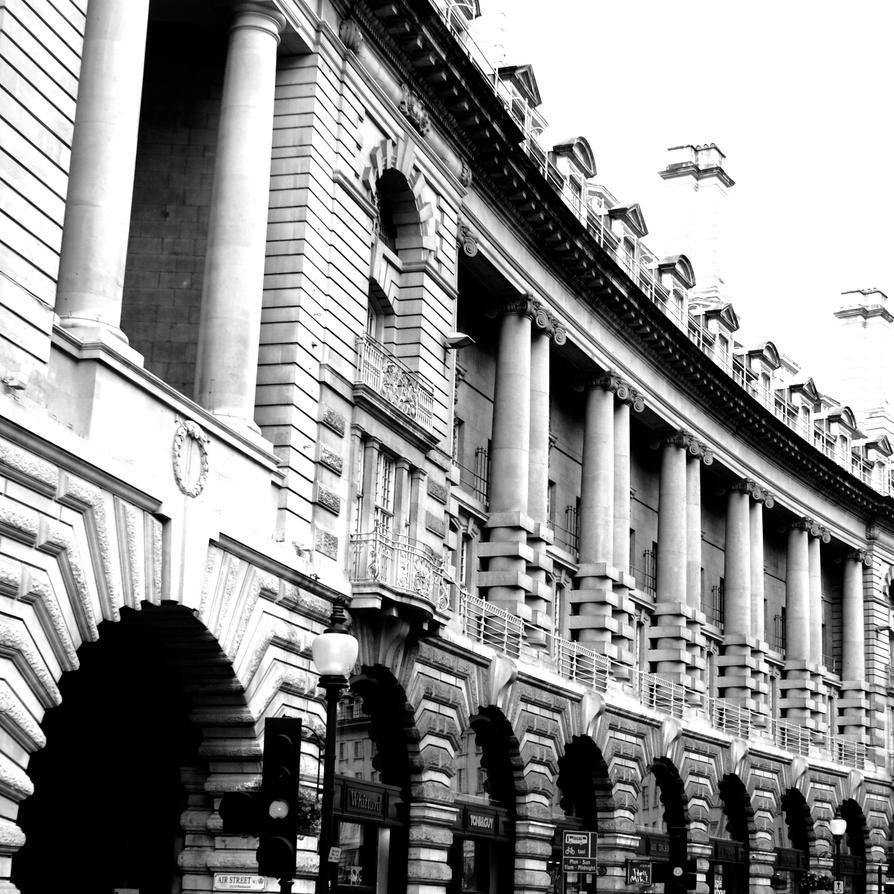 Regent Street Curve by SimpleAdam
