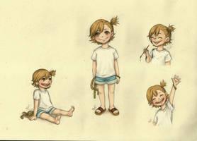 Naru sketches by Fufu-the-maniac