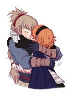 Hug (takukamu) by Fufu-the-maniac