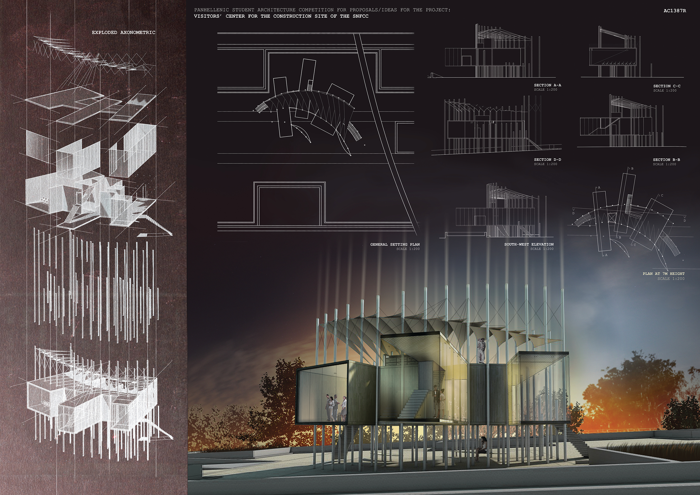 Panhellenic student architecture competition by for Architecture house design competitions