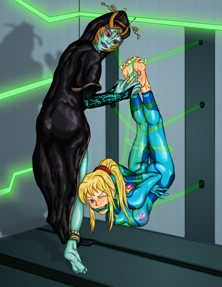 Zero Suit, Zero Boots by PsylisiaDragoon