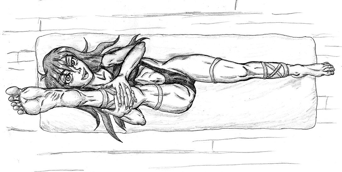 Sketchy Flexy Jo by PsylisiaDragoon