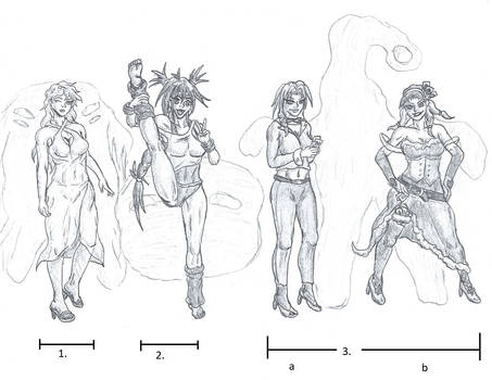 Looking Through a Lineup Sketch - 1