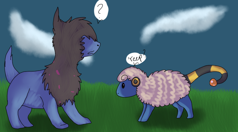 Look some Pokemon by Spiritpie