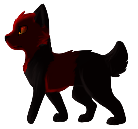 a-rebel-with-chains Lineless Commission by Spiritpie