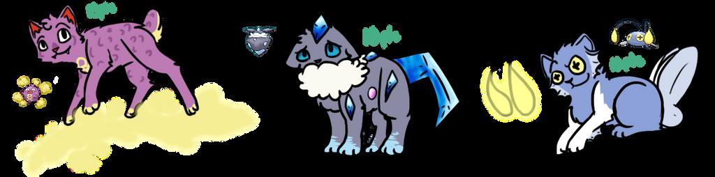 Poke Cat Adoptables 4 :OPEN: by Spiritpie
