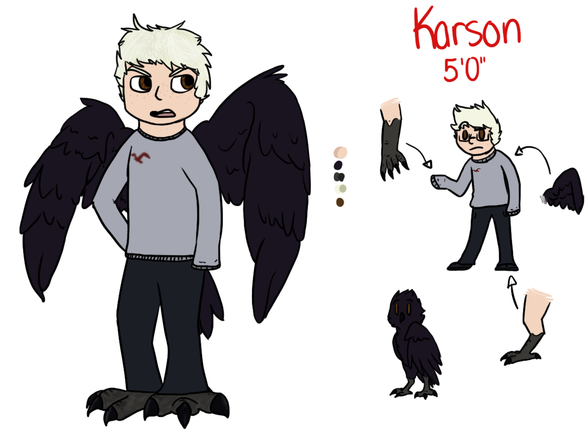 Karson reference by Spiritpie
