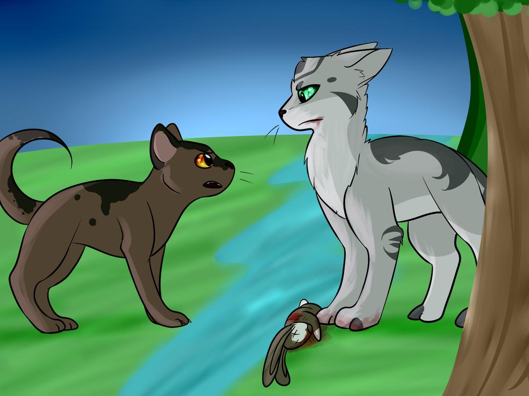 SotC - 'Hey, that's OUR prey!' by Spiritpie