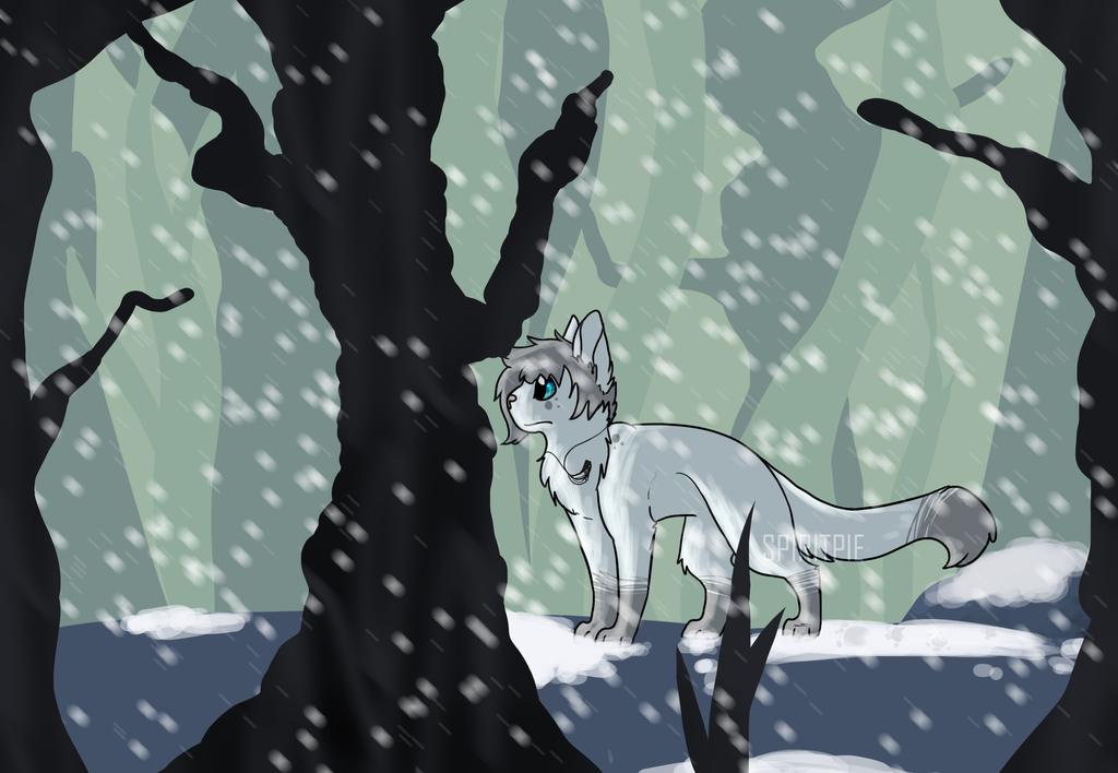 Alone in the Frozen Wasteland :AT: by Spiritpie