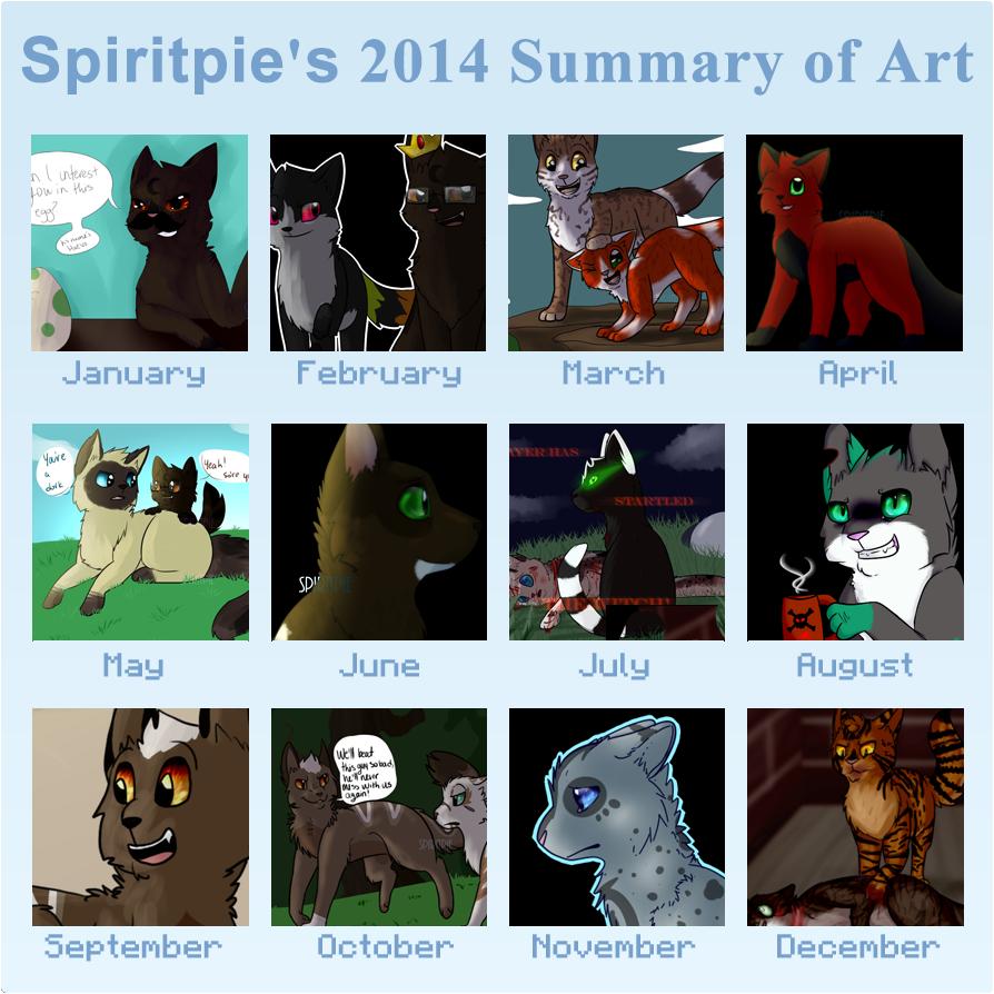 2014 Summary of Art by Spiritpie