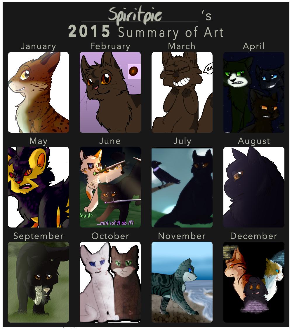 2015 Summary of Art by Spiritpie