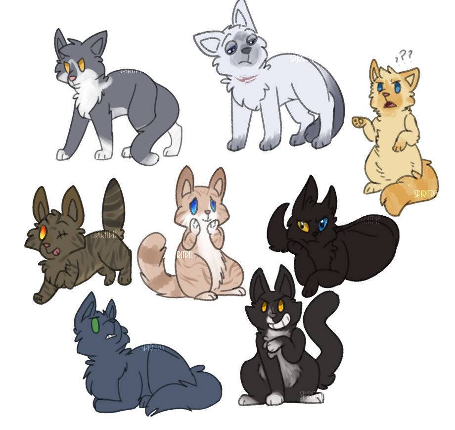 Angst Cats by Spiritpie