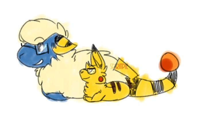 who's that pokemon!? by Spiritpie