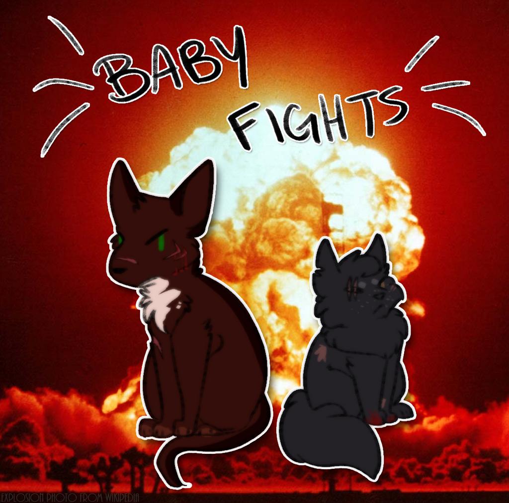 **BABY FIGHTS** by Spiritpie