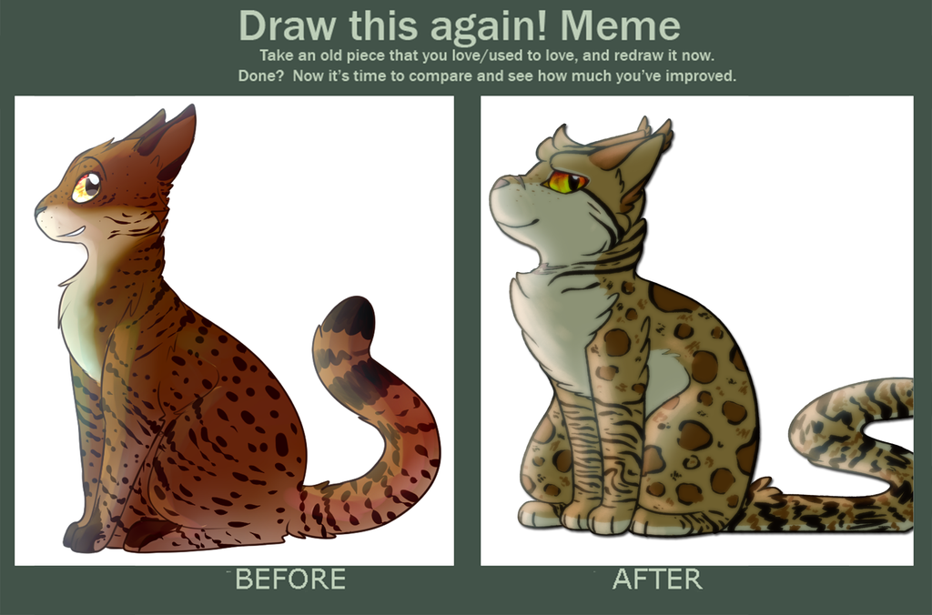 Draw This Again - Hazelstar by Spiritpie
