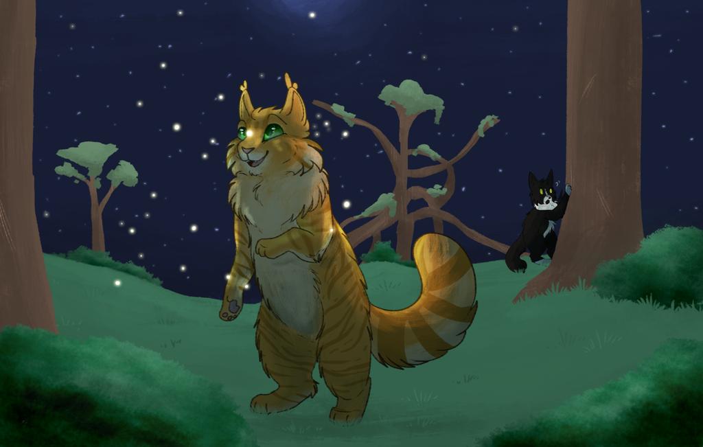 Fireflies by Spiritpie