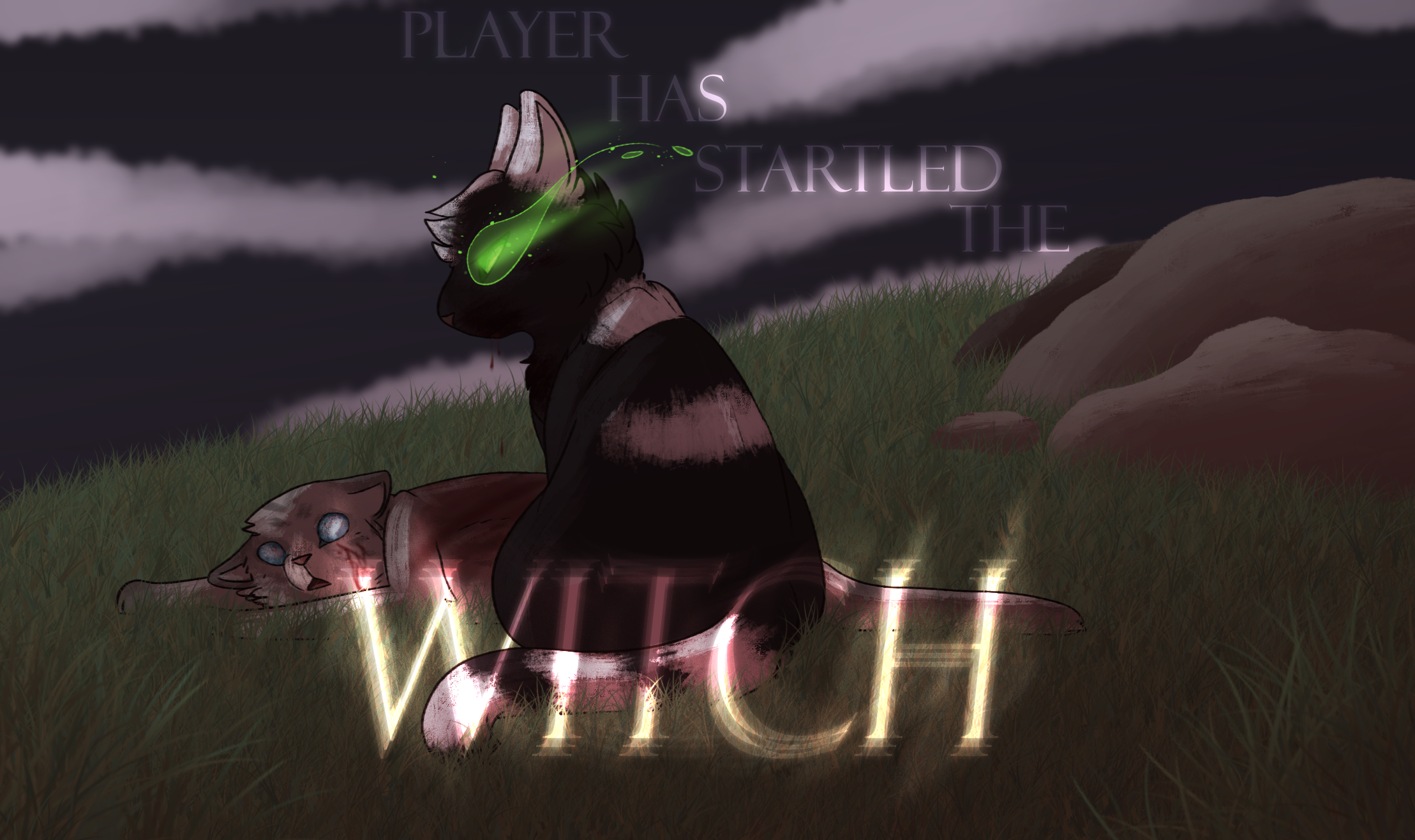 Player Startled The Witch 2017 by Spiritpie