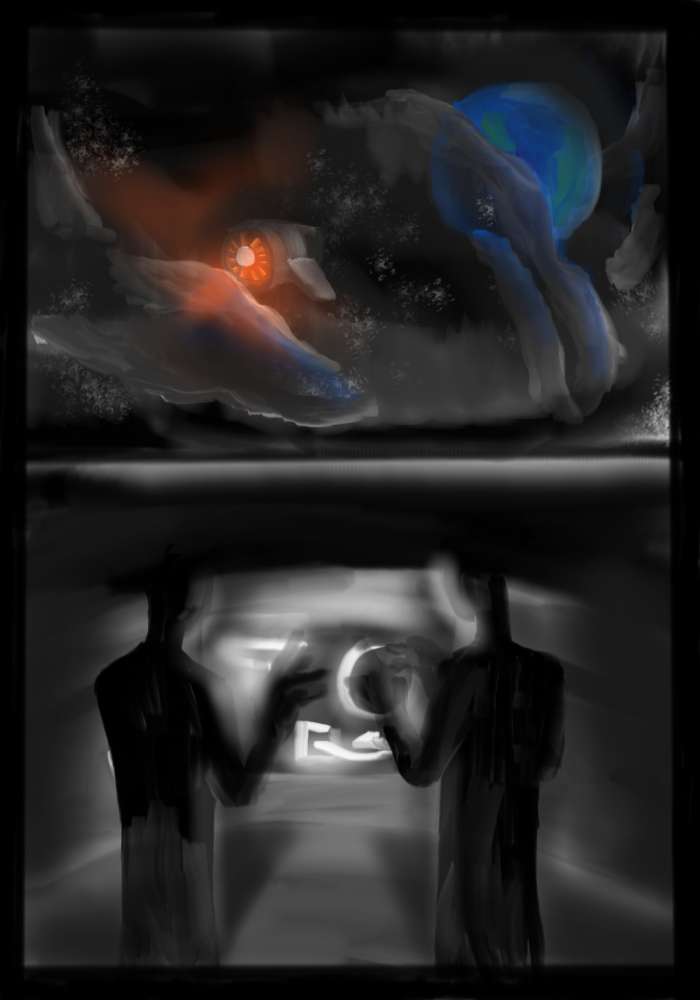 Andromeda Pg 1 by bunniesRawesome