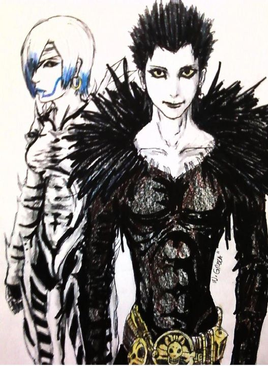 death note ryuk and rem - photo #7