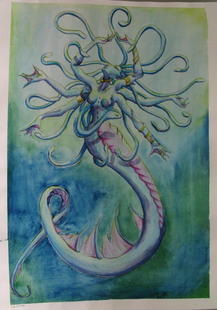 Mistress of Coilfang Reservoir by LadyArrogance
