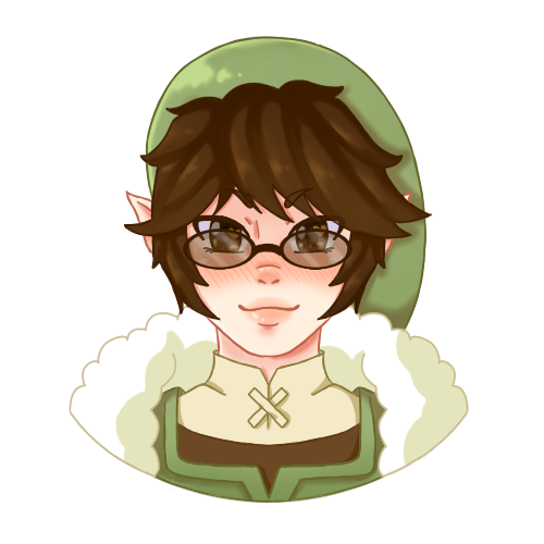 :GIFT: Fluffy Link Head Shot by Momoroo